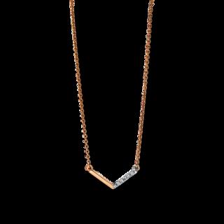 Brogle Selection Halskette mit Anhänger Casual 4E993R8-1