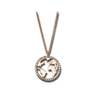 Brogle Selection Halskette mit Anhänger Casual 4F028R8-1