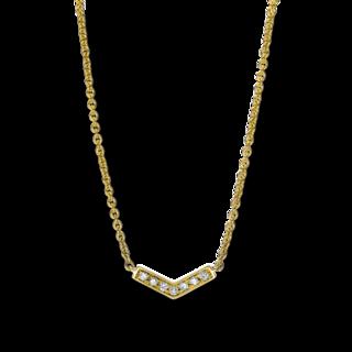 Brogle Selection Halskette mit Anhänger Casual 4F034G8-1