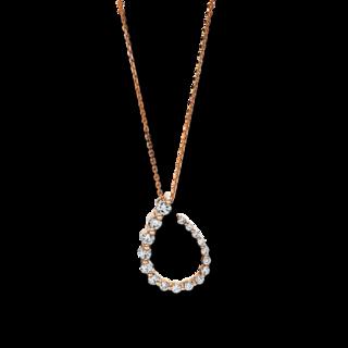 Brogle Selection Halskette mit Anhänger Casual 4F085R8-1