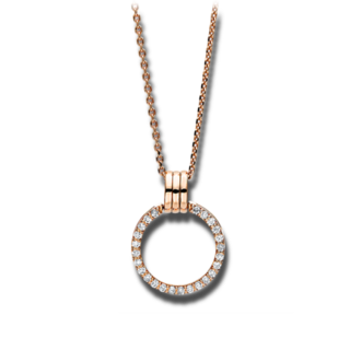 Brogle Selection Halskette mit Anhänger Casual 4F098R8-1