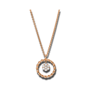 Brogle Selection Halskette mit Anhänger Casual 4F164R8-1