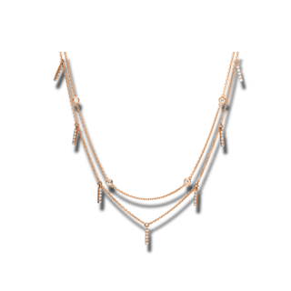 Brogle Selection Halskette mit Anhänger Casual 4F167R8-1