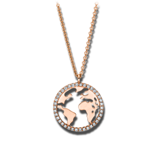 Brogle Selection Halskette mit Anhänger Casual 4F174R8-1