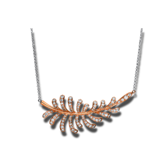 Brogle Selection Halskette mit Anhänger Casual 4F225WR8-1