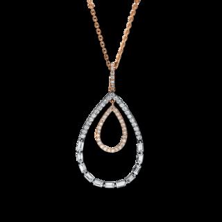 Brogle Selection Halskette mit Anhänger Casual 4F237R8-1
