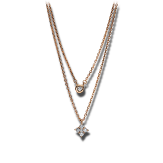 Brogle Selection Halskette mit Anhänger Casual 4F264R8-1