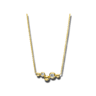 Brogle Selection Halskette mit Anhänger Casual 4F397G8-1