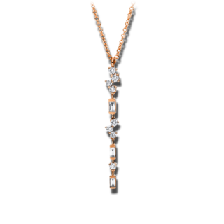 Brogle Selection Halskette mit Anhänger Casual 4F416R8-1