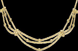 Halskette Brogle Selection Casual aus 750 Gelbgold mit 24 Brillanten (0,33 Karat)