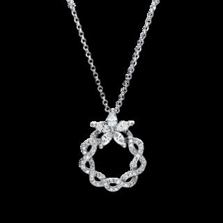 Brogle Selection Halskette mit Anhänger Casual 4F460W8-1