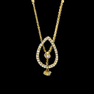 Brogle Selection Halskette mit Anhänger Casual 4F495G8-1