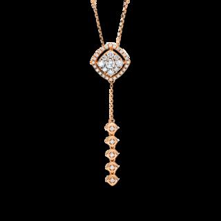 Brogle Selection Halskette mit Anhänger Casual 4F496R8-1