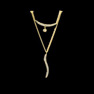 Brogle Selection Halskette mit Anhänger Casual 4F507G8-1