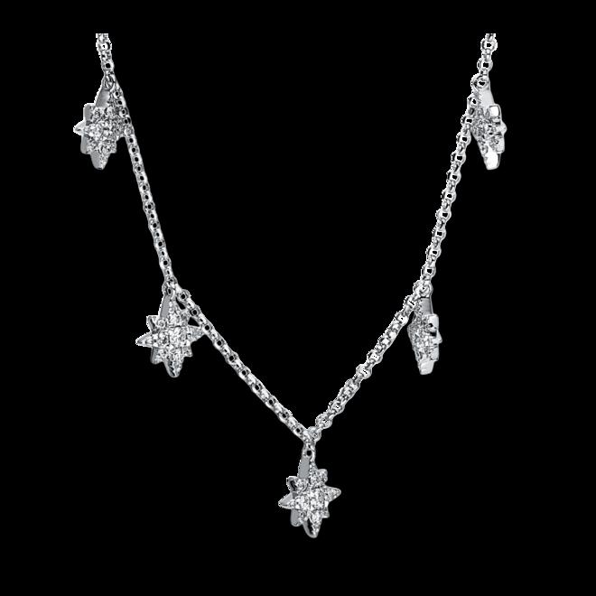 Halskette Brogle Selection Casual aus 750 Weißgold mit 63 Brillanten (0,3 Karat) bei Brogle