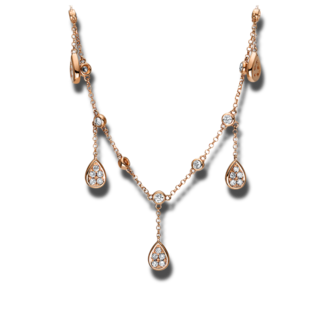 Brogle Selection Halskette mit Anhänger Casual 4F556R8-1