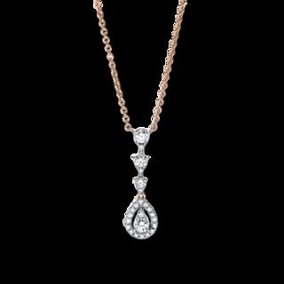 Brogle Selection Halskette mit Anhänger Casual 4F638R8-1