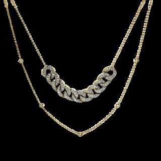 Brogle Selection Halskette mit Anhänger Casual 4G063GW4-1