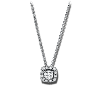 Brogle Selection Halskette mit Anhänger Casual 4G230W8-1