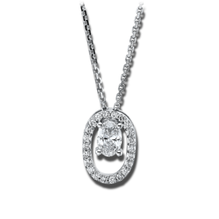 Brogle Selection Halskette mit Anhänger Casual 4G344W8-1