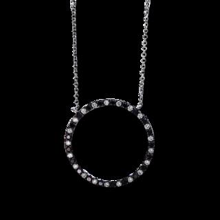 Brogle Selection Halskette mit Anhänger Casual Kreis 4D767W8-1