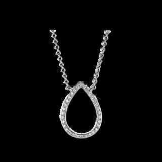 Brogle Selection Halskette mit Anhänger Casual Tropfen 4A400W4-1