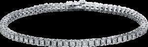 Armband Brogle Selection Eternity aus 750 Weißgold mit 72 Brillanten (2,79 Karat)