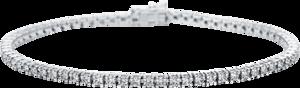 Armband Brogle Selection Eternity aus 750 Weißgold mit 69 Brillanten (2,38 Karat)