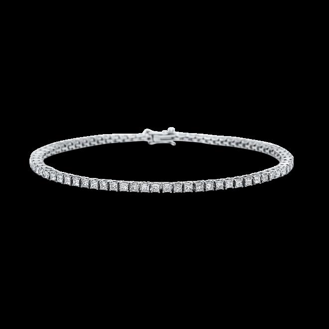 Armband Brogle Selection Eternity aus 750 Weißgold mit 72 Diamanten (3,02 Karat) bei Brogle