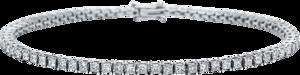 Armband Brogle Selection Eternity aus 750 Weißgold mit 72 Diamanten (3,02 Karat)