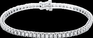 Armband Brogle Selection Eternity aus 750 Weißgold mit 71 Brillanten (1,6 Karat)