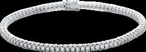 Armband Brogle Selection Eternity aus 750 Weißgold mit 87 Brillanten (1,72 Karat)