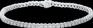 Armband Brogle Selection Eternity aus 750 Weißgold mit 67 Brillanten (1 Karat)