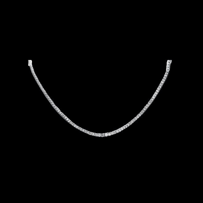 Halskette Brogle Selection Eternity aus 585 Weißgold mit 201 Brillanten (7,31 Karat) bei Brogle