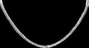 Halskette Brogle Selection Eternity aus 585 Weißgold mit 201 Brillanten (7,31 Karat)