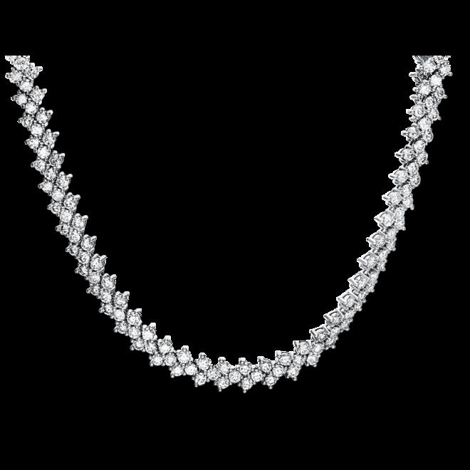 Halskette Brogle Selection Eternity aus 585 Weißgold mit 315 Brillanten (17,77 Karat) bei Brogle