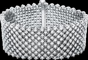 Armband Brogle Selection Exceptional aus 750 Weißgold mit 407 Brillanten (16,56 Karat)