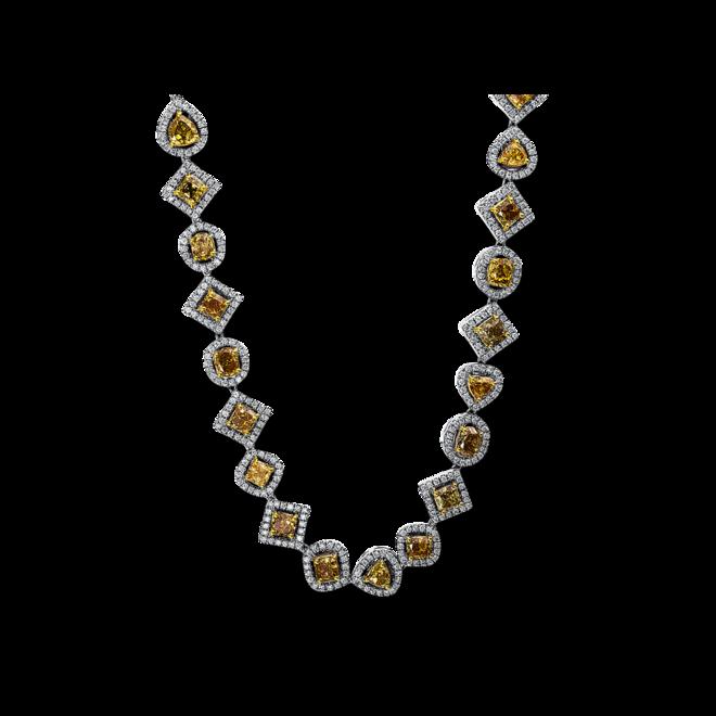 Halskette Brogle Selection Exceptional aus 750 Weißgold und 750 Gelbgold mit 1750 Diamanten (35,56 Karat) bei Brogle