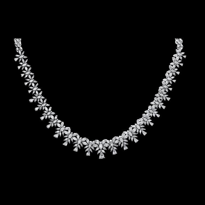 Halskette Brogle Selection Exceptional aus 750 Weißgold mit 224 Diamanten (11,3 Karat) bei Brogle