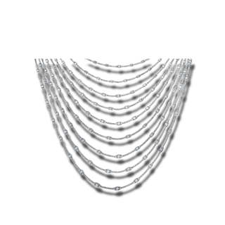 Brogle Selection Halskette mit Anhänger Exceptional 4E624W8-1