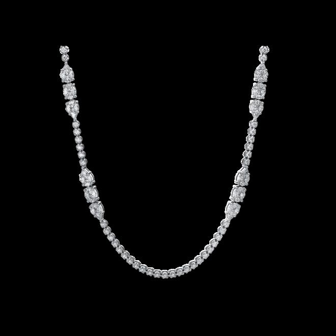 Halskette mit Anhänger Brogle Selection Exceptional aus 750 Weißgold mit 381 Brillanten (16,18 Karat) bei Brogle