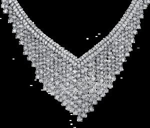 Halskette Brogle Selection Exceptional aus 750 Weißgold mit 555 Brillanten (36,46 Karat)