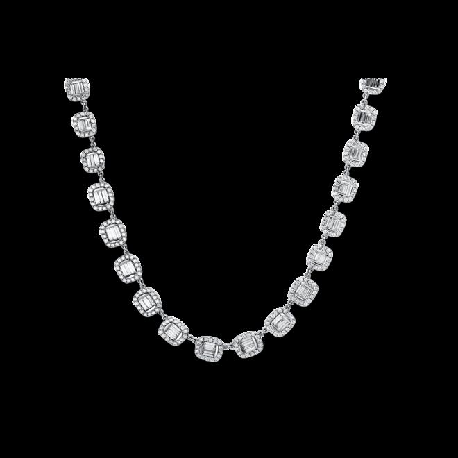 Halskette Brogle Selection Exceptional aus 750 Weißgold mit 615 Brillanten (9,2 Karat) bei Brogle