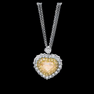 Brogle Selection Halskette mit Anhänger Exceptional 4F058WG8-1