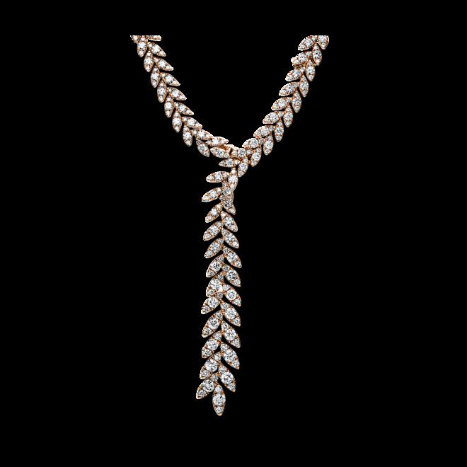 Halskette mit Anhänger Brogle Selection Exceptional aus 750 Roségold mit 723 Brillanten (15,77 Karat) bei Brogle