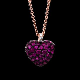 Brogle Selection Halskette mit Anhänger Exceptional Herz 4B997R4-1