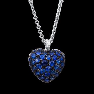 Brogle Selection Halskette mit Anhänger Exceptional Herz 4B999W4-1