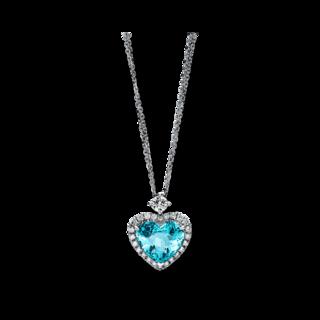 Brogle Selection Halskette mit Anhänger Exceptional Herz 4C673W8-2