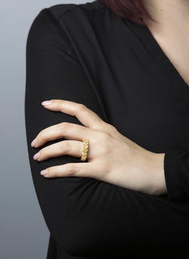 Memoirering Brogle Selection Exceptional aus 750 Gelbgold mit 17 Diamanten (9,04 Karat) voll ausgefasst bei Brogle