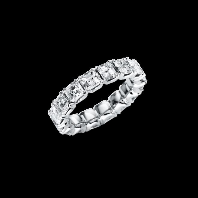 Memoirering Brogle Selection Exceptional aus 750 Weißgold mit 16 Diamanten (5,37 Karat) voll ausgefasst bei Brogle